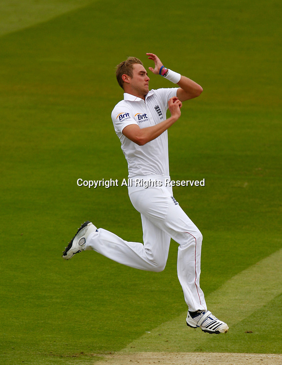 17.05.12 Lords,London, ENGLAND: <br /> Stuart Broad of England <br /> during the Investec First Test ( 1st Day of 5 )between England and West Indies