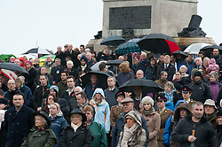 © under license to London News Pictures.  14/11/2010. Remembrance Sunday in Plymouth. Members of public congregated at Plymouth Hoe today (Sun) to pay respects to all who those who lost their lives in current and past conflicts, including the First and Second World Wars. Photo credit should read: David Hedges/London News Pictures