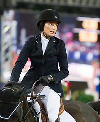 22.09.2012, Rathausplatz, Wien, AUT, Global Champions Tour, Vienna Masters, Grosser Preis von Wien, im Bild Jessica Springsteen (USA) auf Vornado van den Hoendrik// during Vienna Masters of Global Champions Tour, Grand Prix of Vienna at the Rathausplatz, Vienna, Austria on 2012/09/22. EXPA Pictures © 2012, PhotoCredit: EXPA/ Sebastian Pucher