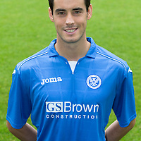 St Johnstone FC..Season 2014-15<br /> Brian Graham<br /> Picture by Graeme Hart.<br /> Copyright Perthshire Picture Agency<br /> Tel: 01738 623350  Mobile: 07990 594431