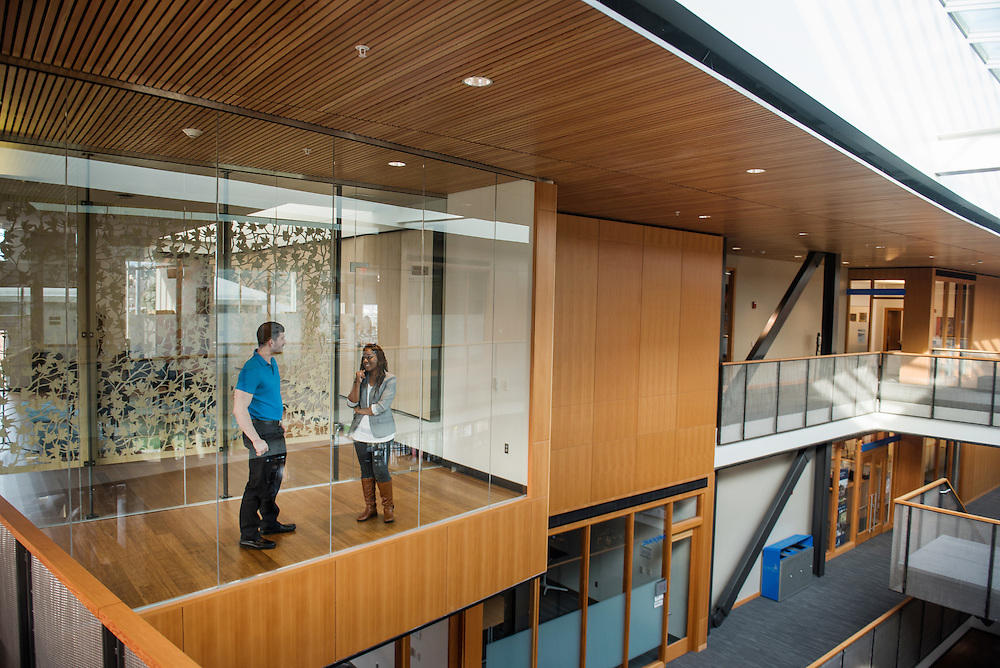 Reflection room in the Hemmingson Center. (Photo by Gonzaga University)