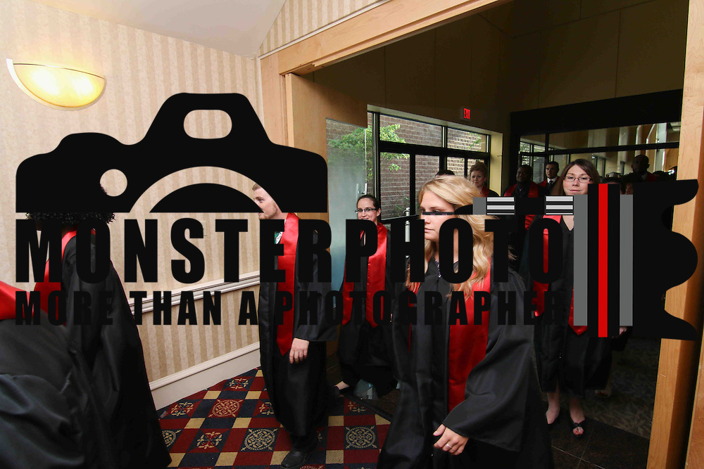 D.A.P.S.S faculty members participate in a graduation processional during D.A.P.S.S inaugural commencement exercise Friday, June 05, 2015, at The Case Center on The River Front in Wilmington, Delaware.