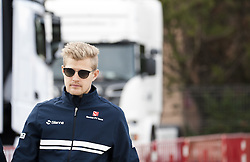 February 28, 2017 - Montmelo, Spain - Marcus Ericsson, driver of the Sauber Team, walks at the paddock during the 2nd day of the Formula 1 Test at the Circuit of Catalunya. (Credit Image: © Pablo Freuku/Pacific Press via ZUMA Wire)