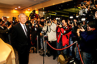 HONG KONG: Former Hong Kong Chief Executive Tung Chee Hua is shown in his first year in office. Tung was the first elected Chief Executive of the what is now known as the Hong Kong Special Administrative Region of the People's Republic of China.  He took office on July 1, 1997 after the handover of Hong Kong from the United Kingdom to China, and was elected again to a second five-year term in 2002 but resigned 3 years later claiming poor health but most say it was due to the growing   controversies surrounding his governing. (Photo by David Paul Morris) ...