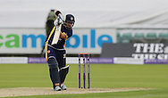 Mark Stoneman of Durham County Cricket Club batting during the Royal London One Day Cup match at Emirates Durham ICG, Chester-le-Street<br /> Picture by Simon Moore/Focus Images Ltd 07807 671782<br /> 06/09/2014
