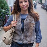 NLD/Amsterdam/20130917 - Boekpresentatie Het Inzicht van Johan Noorloos, Nadja Hupsher