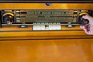 Radio in Havana Vedado, Cuba.