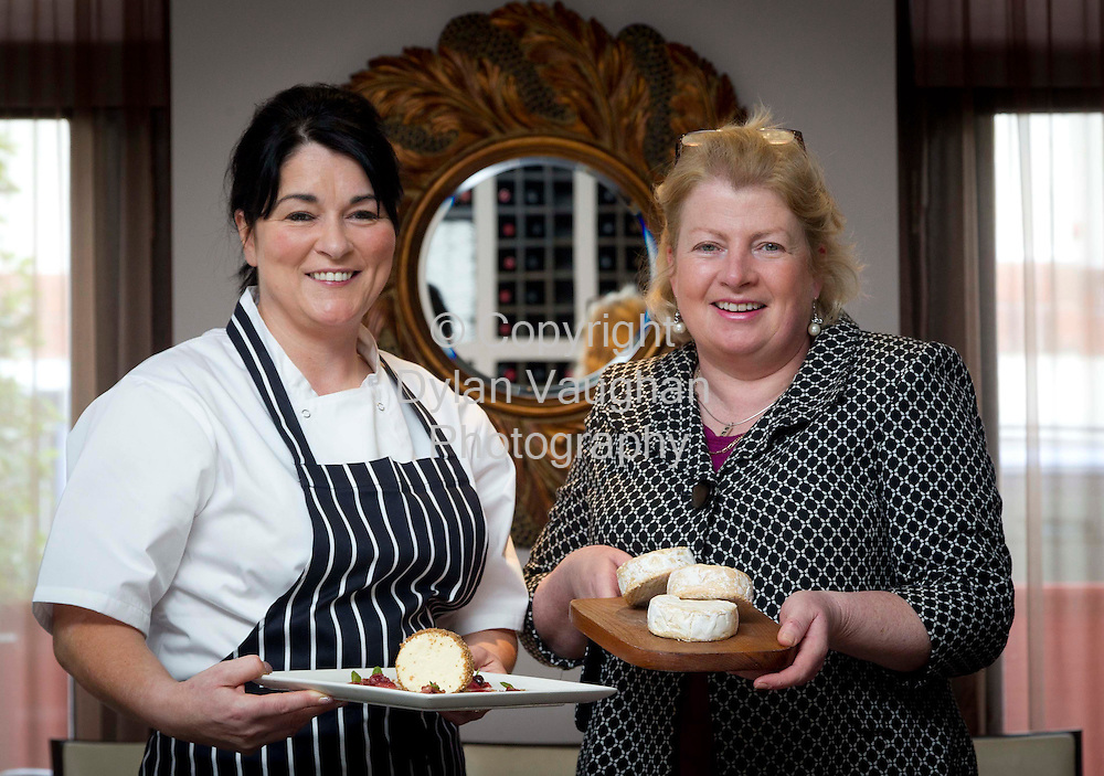 28/2/2012 .Maria Raftery of Zuni left and Helen Finnegan from Knockdrinna cheese pictured at Zuni in Kilkenny..Picture Dylan Vaughan..