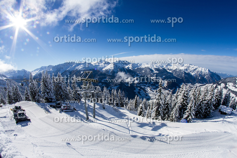 Panorama at 12th European Youth Olympic Winter Festival in Verarlberg and Liehtenstein on January 26, 2015. (Photo by Peter Kastelic / Sportida.com)