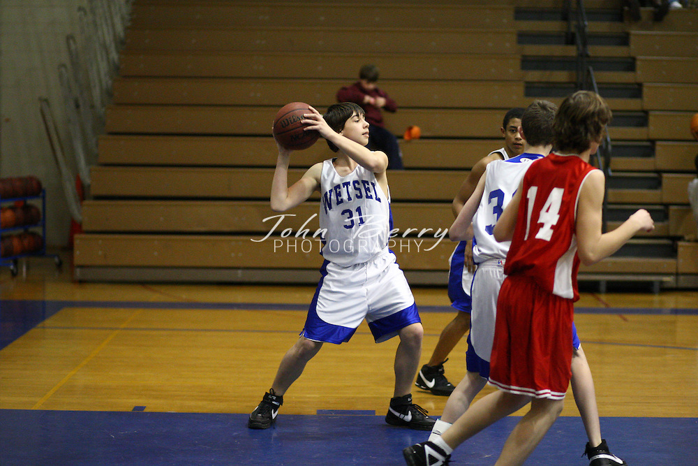 Wetsel Boys Basketball.vs Stonewall Jackson.1/15/08