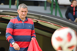 Marjan Pusnik head coach of NK Rudar Velenje during football match between NS Mura and NK Rudar Velenje in 13th Round of Prva liga Telekom Slovenije 2018/19, on October 20, 2018 in Mestni stadion Fazanerija, Murska Sobota , Slovenia. Photo by Mario Horvat / Sportida