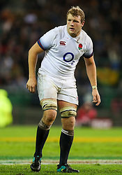 Joe Launchbury of England- Mandatory by-line: Steve Haag/JMP - 23/06/2018 - RUGBY - DHL Newlands Stadium - Cape Town, South Africa - South Africa v England 3rd Test Match, South Africa Tour