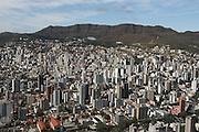 Belo Horizonte_MG, Brasil.<br /> <br /> Vista aerea de Belo Horizonte com a Serra do Curral ao fundo, Minas Gerais.<br /> <br /> Aerial view of Belo Horizonte and in the background Serra do Curral, Minas Gerais.<br /> <br /> Foto: RODRIGO LIMA / NITRO
