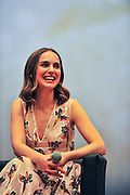 BEIJING, CHINA - APRIL 17: (CHINA OUT) <br /> <br /> American actress Natalie Portman attends Sino-Foreign Film Co-ptoduction Forum during the 6th Beijing International Film Festival on April 17, 2016 in Beijing, China.<br /> ©Exclusivepix Media