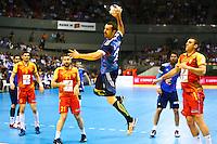 Michael Guigou - 03.05.2015 - France / Macedoine - Qualifications Championnats d'Europe -Toulouse<br />Photo : Manuel Blondeau / Icon Sport