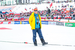 25.03.2018, Planica, Ratece, SLO, FIS Weltcup Ski Sprung, Planica, Skiflug, Einzelbewerb, Finale, im Bild FIS Renndirektor Walter Hofer // FIS Race Director Walter Hofer during the Ski Flying Hill individual competition of the FIS Ski Jumping World Cup Final 2018 at Planica in Ratece, Slovenia on 2018/03/25. EXPA Pictures © 2018, PhotoCredit: EXPA/ JFK