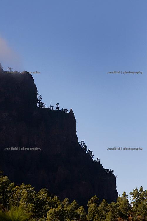 La Palma, Kanarische Inseln, Nationalpark Caldera de Taburiente,