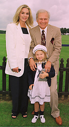 MR & MRS KEN KERCHEVAL and their daughter MADISON, he played Cliff Barns in Dallas, at a polo match in Berkshire on 14th June 1998.MII 13