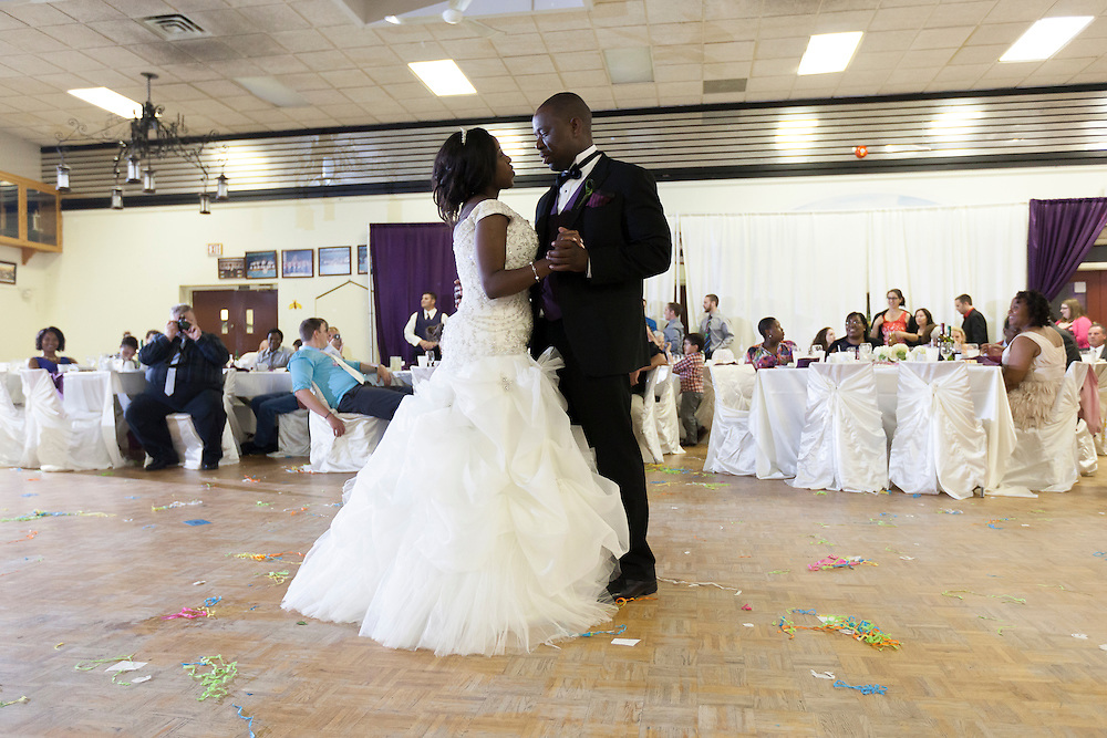 Harvey Milne and Princess Sibanda Wedding at the Lady Of Fatima Church