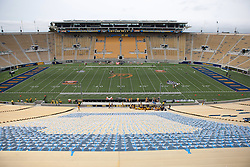 BERKELEY, CA - SEPTEMBER 12:  General view of California Memorial Stadium before the game at between the California Golden Bears and the San Diego State Aztecs on September 12, 2015 in Berkeley, California. The California Golden Bears defeated the San Diego State Aztecs 35-7. (Photo by Jason O. Watson/Getty Images) *** Local Caption ***