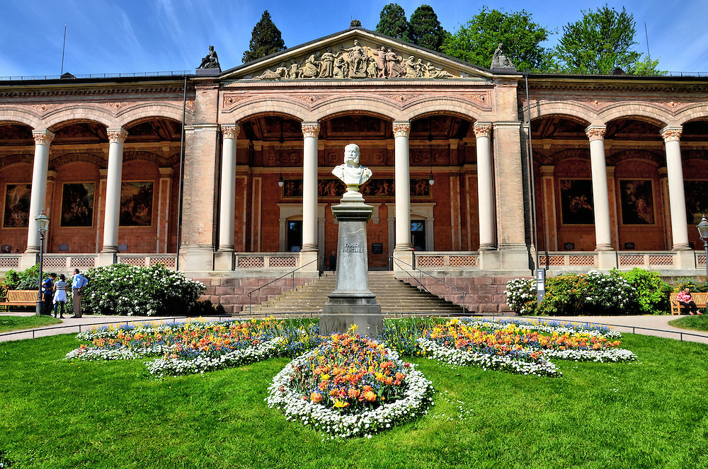trinkhalle kaiser wilhelm i bust in baden baden germany encircle photos. Black Bedroom Furniture Sets. Home Design Ideas
