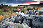 Autumn in Þingvellir national park, south-west Iceland.