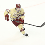 Ryan Fitzgerald #19 of the Boston College Eagles on the ice during The Beanpot Championship Game at TD Garden on February 10, 2014 in Boston, Massachusetts. (Photo by Elan Kawesch)