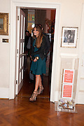 JEMIMA KHAN; , Freud Museum dinner, Maresfield Gardens. 16 June 2011. <br /> <br />  , -DO NOT ARCHIVE-© Copyright Photograph by Dafydd Jones. 248 Clapham Rd. London SW9 0PZ. Tel 0207 820 0771. www.dafjones.com.