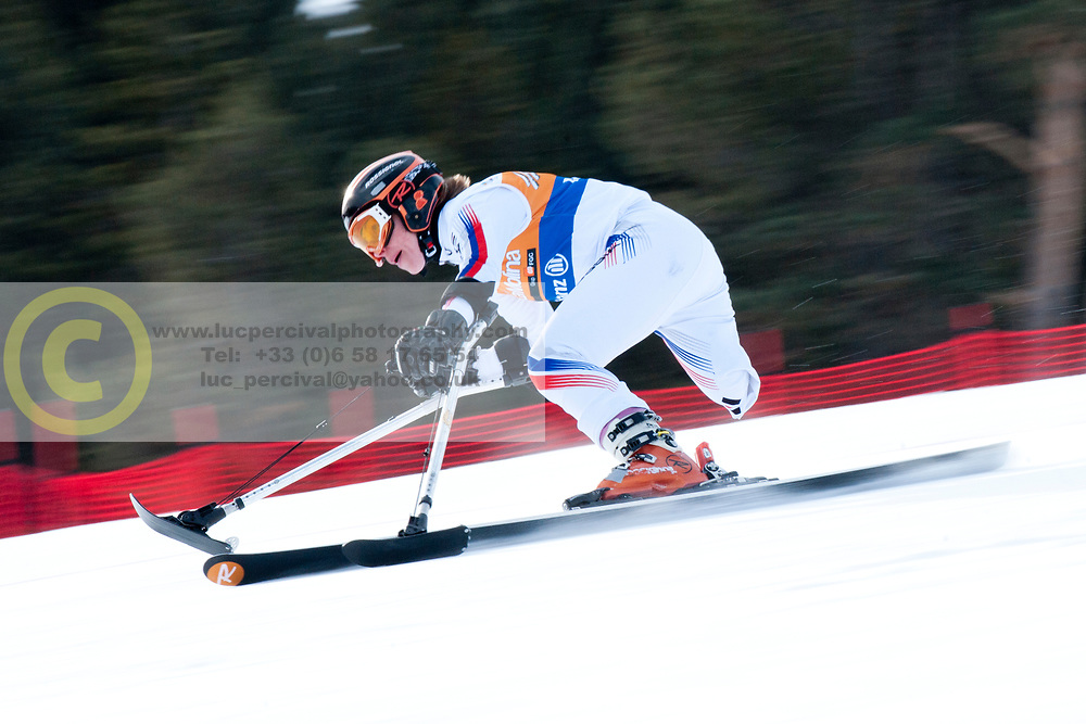 MEDVEDEVA Inga, RUS, Super Combined, 2013 IPC Alpine Skiing World Championships, La Molina, Spain
