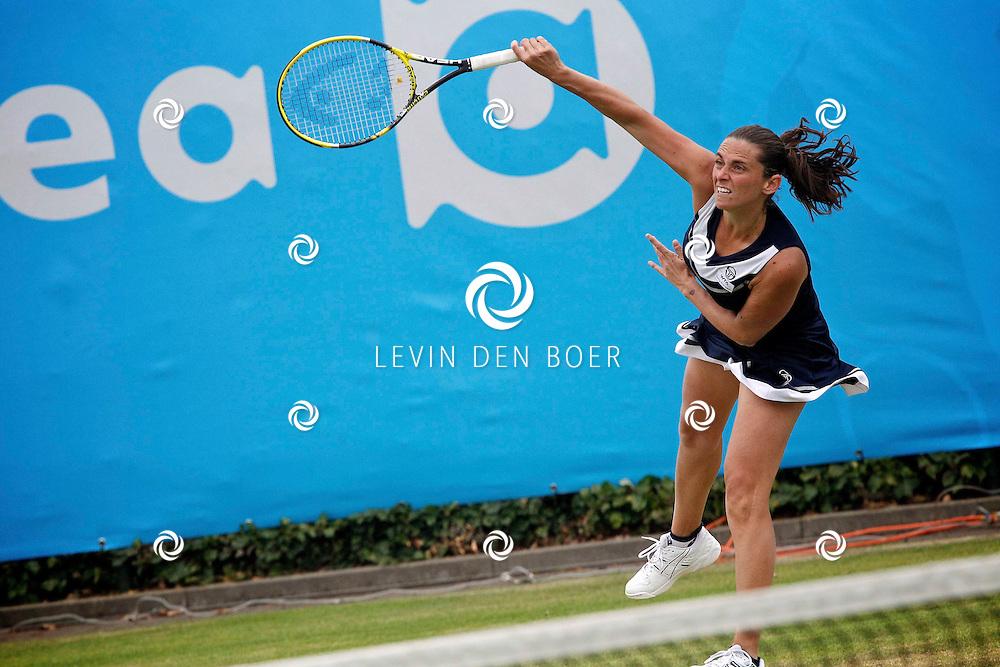 ROSMALEN - Roberta Vinci wint op de Unicef Open van Dominika Cibulkova. FOTO LEVIN DEN BOER - PERSFOTO.NU