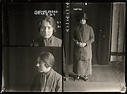 The barber shop slasher, the back-street abortionist and the 'parasite in a skirt': Vintage Australian mugshots reveal some of the country's earliest women criminals<br /> <br /> Haunting images of the past have emerged, showing vintage black and white portraits of Australian women.<br /> But these are no ordinary women. These are the not-so-innocent faces of convicted criminals who were put behind bars from the 1880s to 1930s.<br /> Among them include the infamous razor gangster and prominent madam of the times - Matilda 'Tilly' Devine.<br /> Others include backyard abortionists, drug dealers and those convicted of bigamy, drunkenness and theft.<br /> most of them were sent to the State Reformatory for Women, Long Bay - south of Sydney - which is now known asLong Bay Correctional Complex.<br /> <br /> <br /> Photo shows:  Matilda Devine, criminal record number 659LB, 27 May 1925. State Reformatory for Women, Long Bay, NSW.<br /> <br /> Matilda 'Tilly' Devine used a razor to slash a man's face in a barber's shop and was sentenced to two years gaol. She was Sydney's best-known brothel madam and her public quarrels with sly-grog queen Kate Leigh provided the media with an abundance of material. Aged 25<br /> ©NSW Police Gazette/Exclusivepix