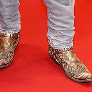 NLD/Amsterdam/20151214 - Film premiere Mannenharten 2, cowboy laarzen Matteo van der Grijn