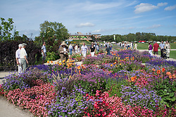 The Federal Horticultural Show or BUGA Biundesgartenschau held in Koblenz Germany 2011