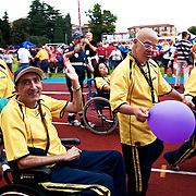 Italy, Biella- XVIII Special Olympics National Games for mentally disabled people: delegations entry during opening ceremony ©2012 Mama2