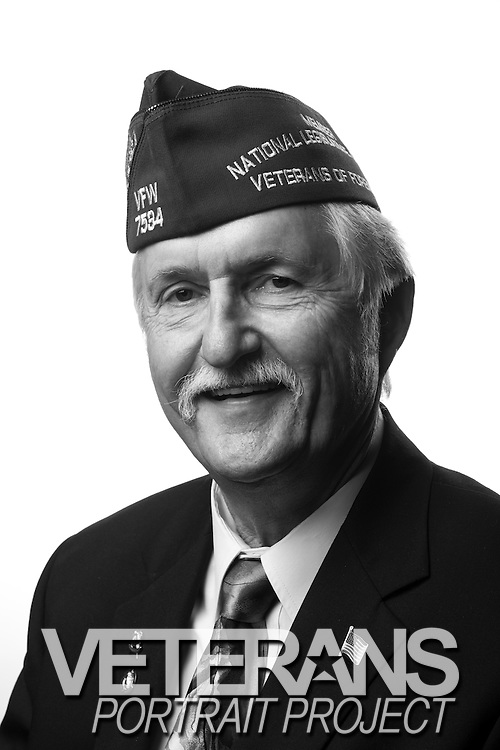 Bruce Sorenson<br /> Air Force<br /> SSgt (E-5)<br /> 2nd Civil Engineers Squadron<br /> Heavy Equipment Operator<br /> 1966 - 1970<br /> Korea and Vietnam Era<br /> <br /> Veterans Portrait Project<br /> Louisville, KY<br /> VFW Convention <br /> (Photos by Stacy L. Pearsall)