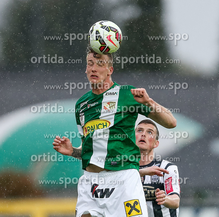 01.05.2015, Reichshofstadion, Lustenau, AUT, 2. FBL, SC Austria Lustenau vs LASK Linz 31. Runde, im Bild Alexander Aschauer,(SC Austria Lustenau #14)// during Austrian Second Bundesliga Football Match, 31th round, between SC Austria Lustenau vs LASK Linz at the Reichshofstadion, Lustenau, Austria on 2015/05/01. EXPA Pictures © 2015, PhotoCredit: EXPA/ Peter Rinderer