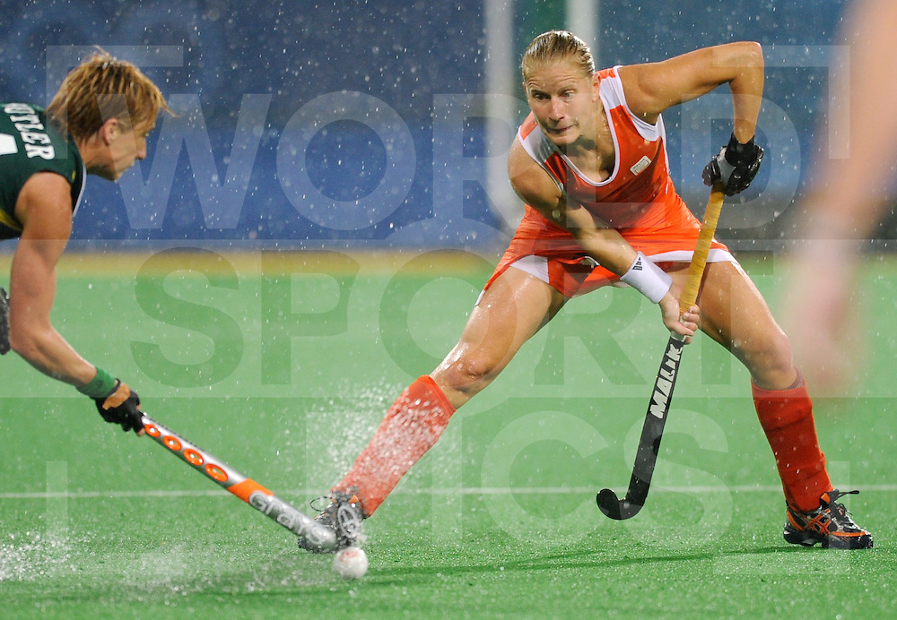 Beijing Olympic Green Hockey Stadium - Hockey.Netherlands - South Africa 6-0.Janneke Schopman.photo:wsp/Frank Uijlenbroek.