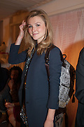 AMBER ATHERTON, Maison Triumph launch to celebrate the beginning of London fashion week. Monmouth St. 14 February 2013.
