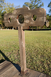 Stockades on the grounds of Ninety Siix National Historic Site, near Ninety-Six, SC.