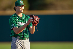 NORMAL, IL - April 08: Connor Sparks during a college baseball game between the ISU Redbirds  and the Sacramento State Hornets on April 08 2019 at Duffy Bass Field in Normal, IL. (Photo by Alan Look)
