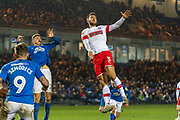 Joe Mattock (3) during the EFL Sky Bet League 1 match between Peterborough United and Rotherham United at London Road, Peterborough, England on 25 January 2020.