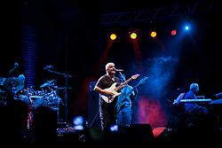 """Giffoni Valle Piana (SA) 15.07.2012 - Giffoni Film Festival 2012. Neapolis Festival Live. Pino Daniele in Concerto presso lo Stadio Comunale """"Giuseppe Troisi"""" di Giffoni Valle Piana. Foto Giovanni Marino"""