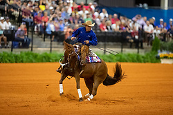 L HUSS Daniel (USA), MS Dreamy<br /> Tryon - FEI World Equestrian Games™ 2018<br /> Reining Finale Einzelentscheidung<br /> September 2018<br /> © www.sportfotos-lafrentz.de/Stefan Lafrentz