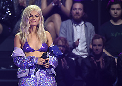 Bebe Rexha bei Verleihung der MTV Europe Music Awards in Rotterdam / 061116<br /> <br /> *** The show during the MTV Europe Music Awards in Rotterdam, Netherlands, November 06, 2016 ***