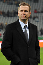 03.03.2010, Allianz Arena Muenchen, Muenchen, GER,  Laenderspiel Deutschland ( GER ) - Argentinien ( ARG ) 0 - 1. Im Bild Oliver Bierhoff ( GER / Teammanager ). EXPA Pictures © 2010, PhotoCredit: EXPA/ nph/  Kurth / for Slovenia SPORTIDA PHOTO AGENCY.