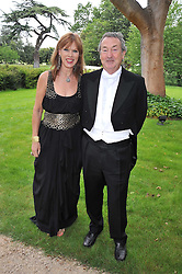 NICK & NETTE MASON at the Raisa Gorbachev Foundation fourth annual fundraising gala dinner held at Stud House, Hampton Court, Surrey on 6th June 2009.