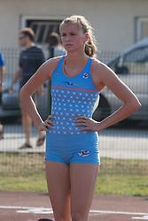 Sara Strajnar during Day 1 of Slovenian Athletics National Championships 2013, on July 27, 2012 in Celje, Slovenia. (Photo by Gregor Krajnčič / Sportida.com)
