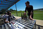 WIne tasting in the Adelaide Hills - 2012 Santos Tour Down Under - Adelaide