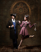 Steampunk dancers