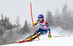 26.11.2017, Killington, USA, FIS Weltcup Ski Alpin, Killington, Slalom, Damen, 1. Lauf, im Bild Mikaela Shiffrin (USA) // Mikaela Shiffrin of the USA in action during her 1st run of ladie's Slalom of FIS ski alpine world cup Killington, United Staates on 2017/11/26. EXPA Pictures © 2017, PhotoCredit: EXPA/ Johann Groder